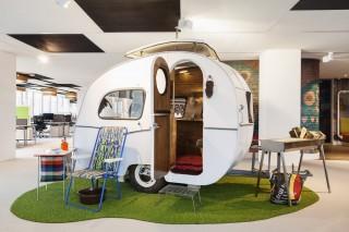 Google Amsterdam Caravan