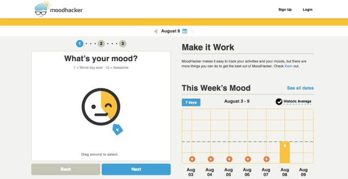 Moodhacker Screenshot