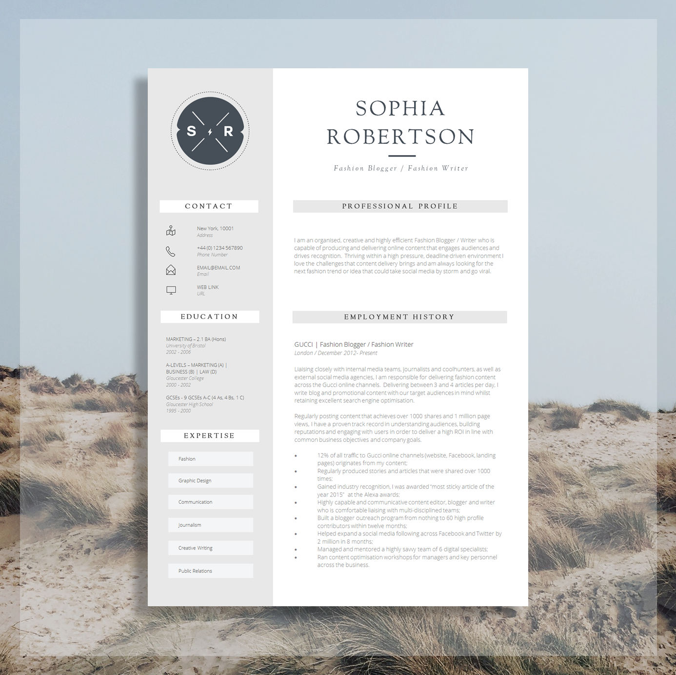 About Interior Design 17 Awesome Examples Of Creative Cvs Resumes Guru