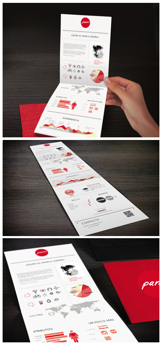 awesome examples of creative cvs resumes guru pam creative cv