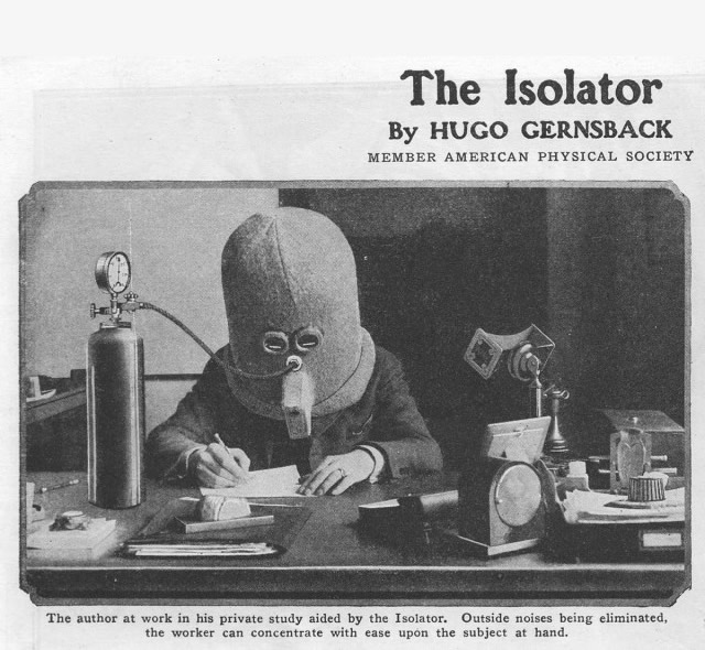The Isolator by Hugo Gernsbeck