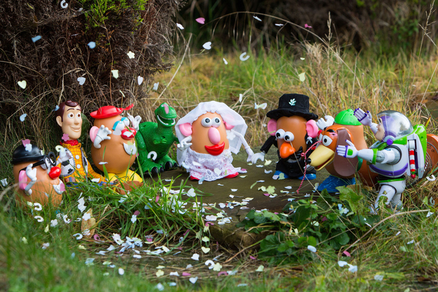 Potato Head Wedding