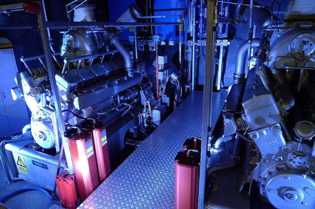 Pionen Nuclear Bunker Data Centre - Submarine Engine 3