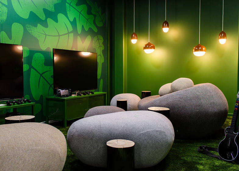 Candy Crush Offices - Games Room