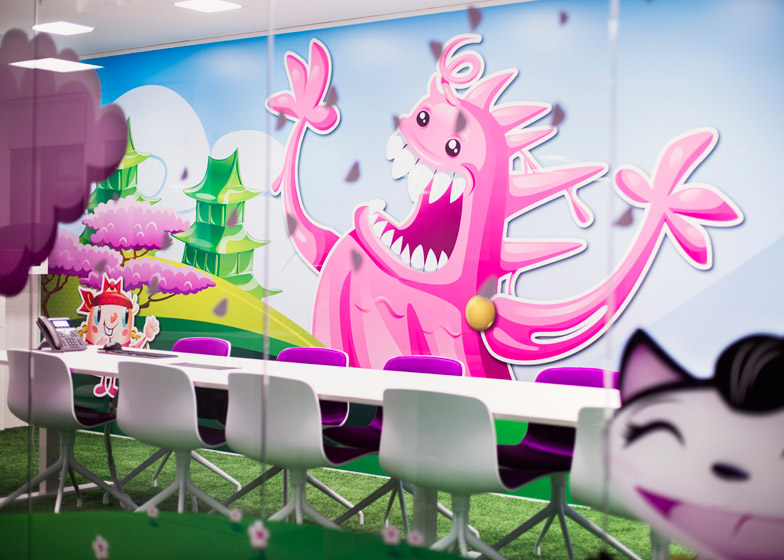 Candy Crush Offices - Meeting Room 2