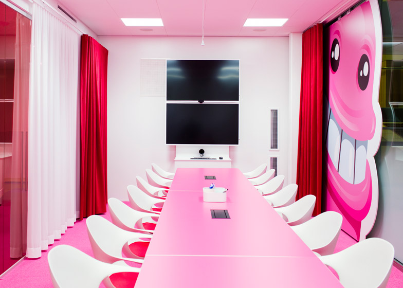 Candy Crush Offices - Meeting Room
