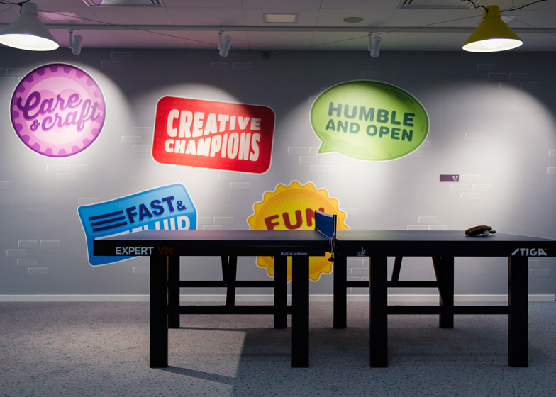 Candy Crush Offices - Ping Pong