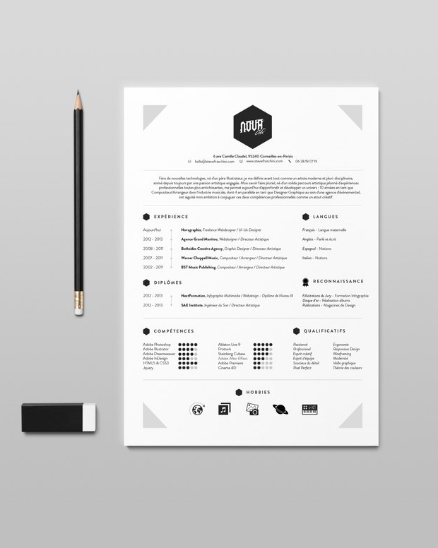 professional cv design