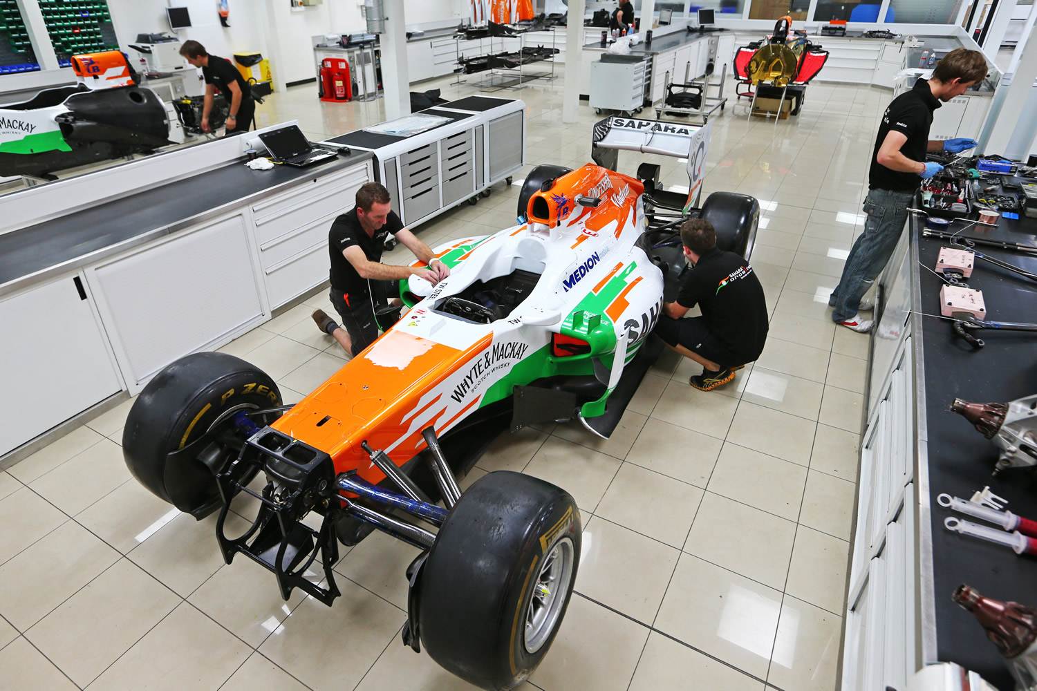 Working at Force India