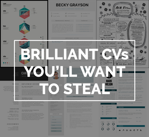 12 Brilliant CV Designs That You Ll Want To Steal