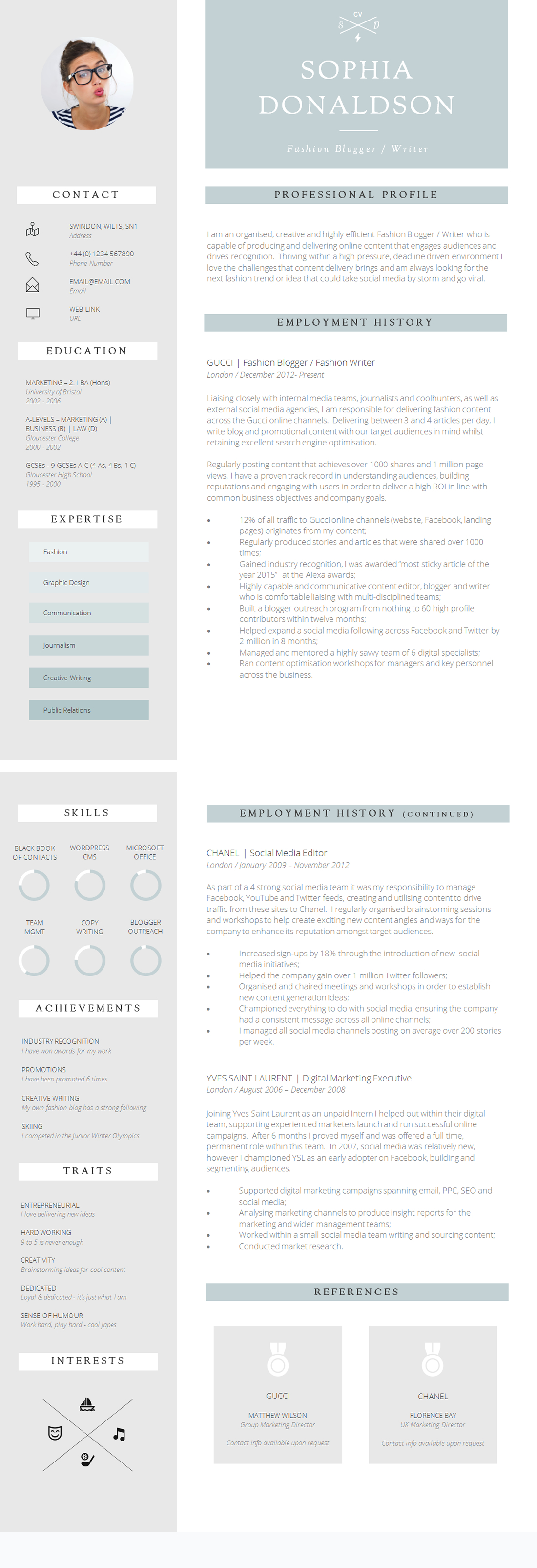 12 brilliant cv designs that you ll want to steal guru