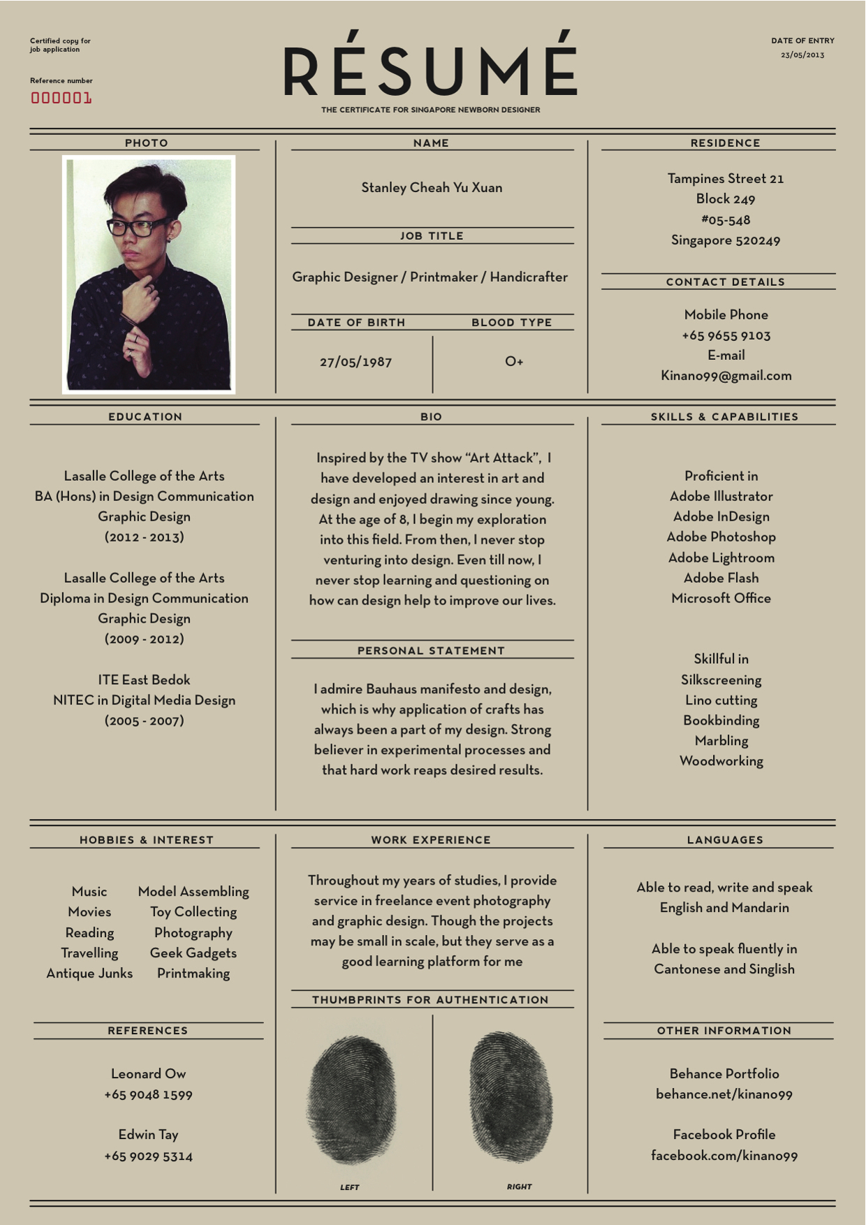 brilliant resume