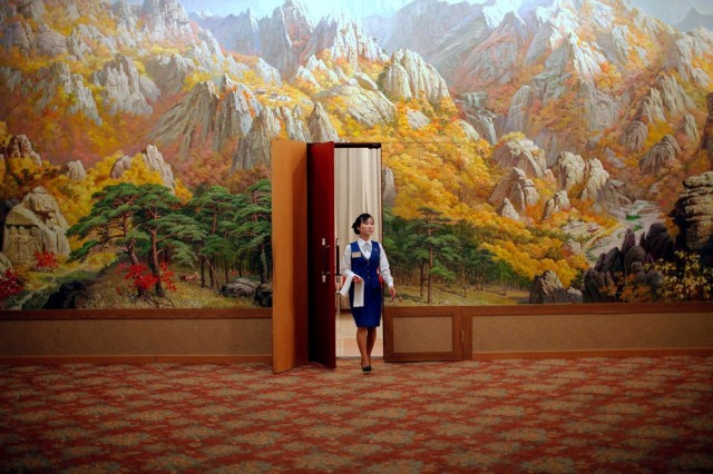 Women Working in North Korea - Hotel