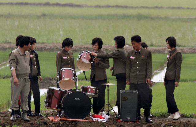 Women Working in North Korea - Musicians