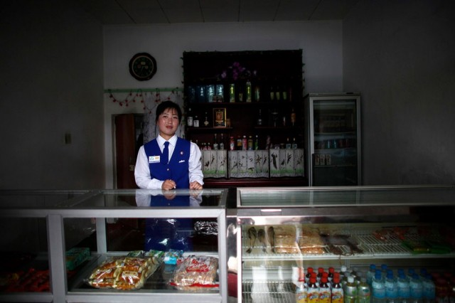 Women Working in North Korea - Vendor