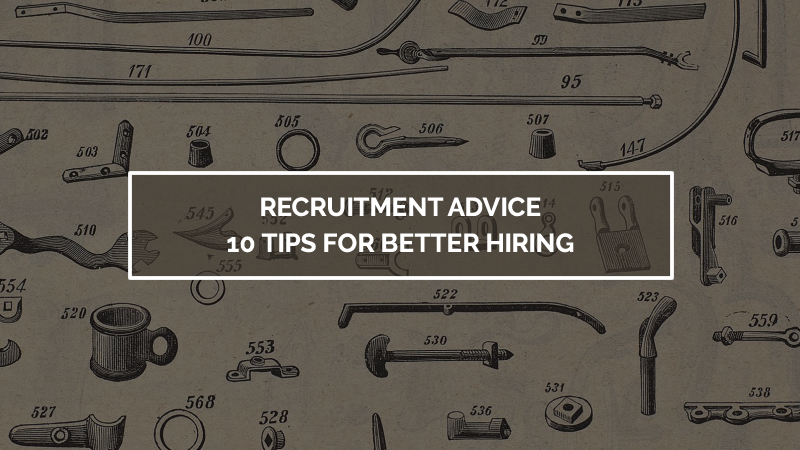 Recruitment Advice