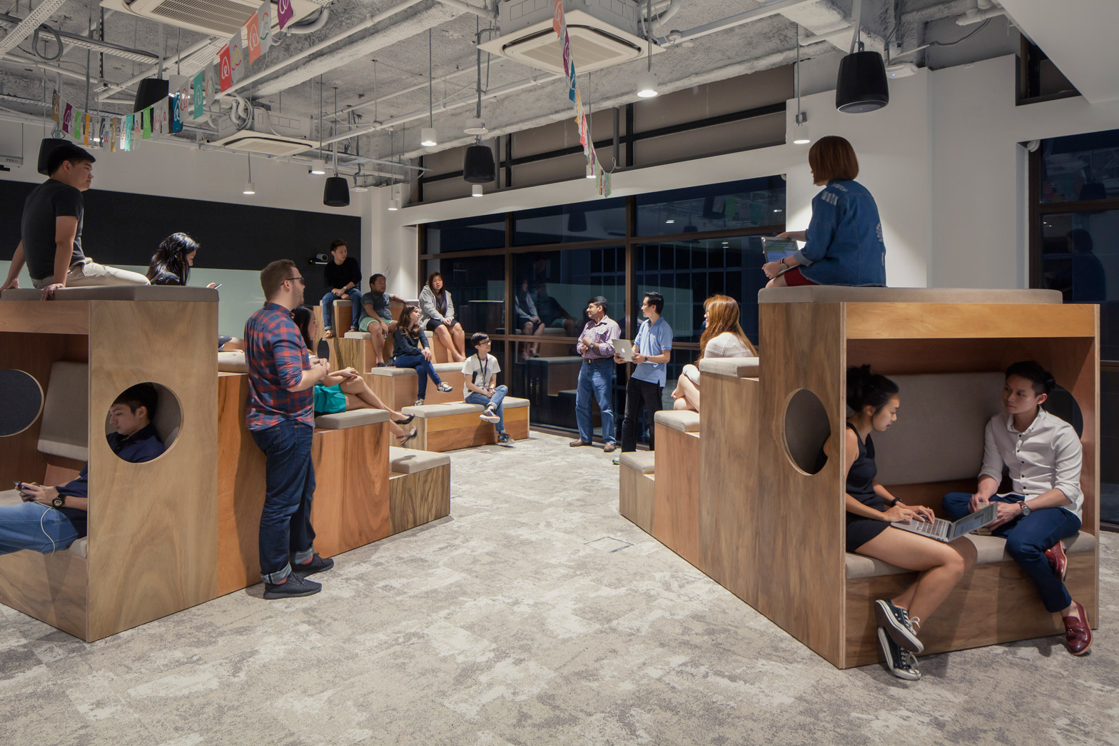 Village Greens To Reading Nooks Airbnb Have New Offices