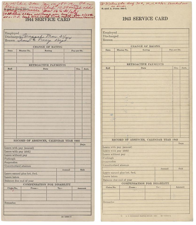 Albert Einstein Employment Documents