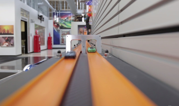 Amazing Hot Wheels Track at their Californian Office