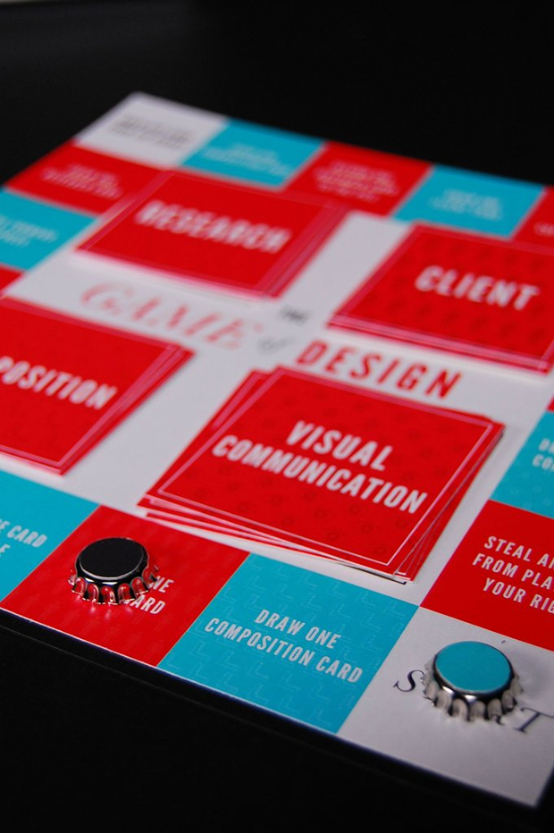 the game of design a cv that is actually a board game guru
