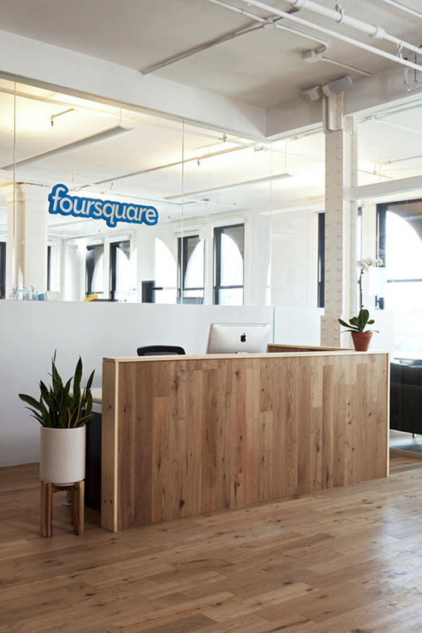 Foursquare New York Office - Reception