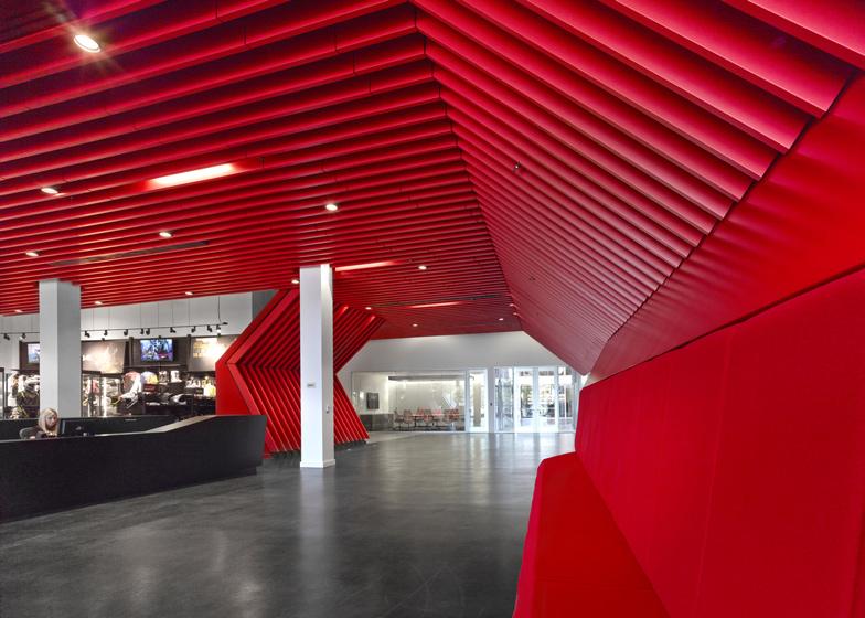 Fox Head Inc - Entrance Corridor