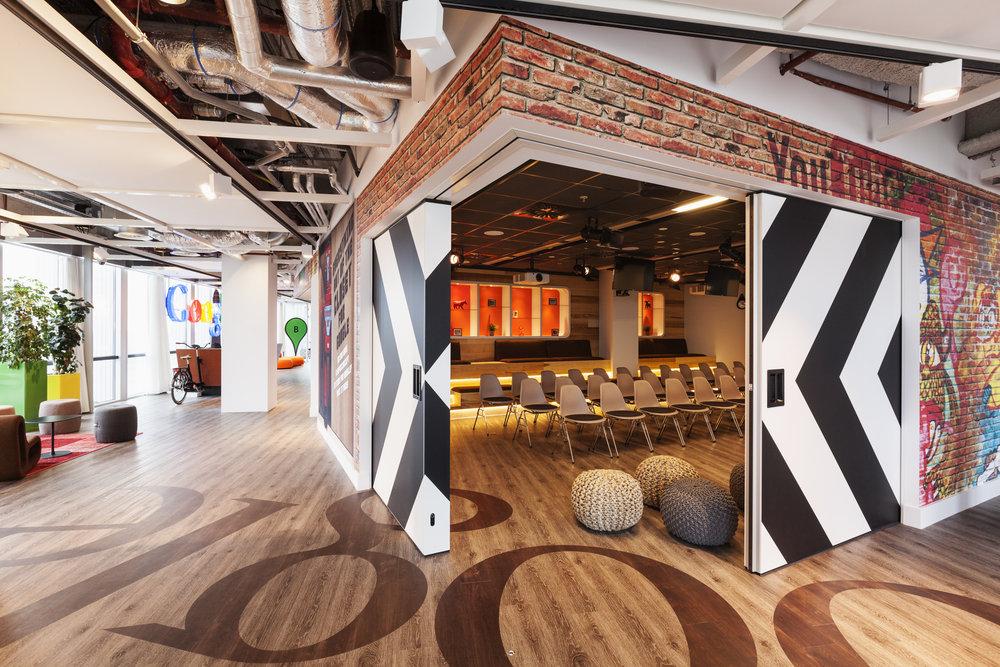 Google Amsterdam Auditorium