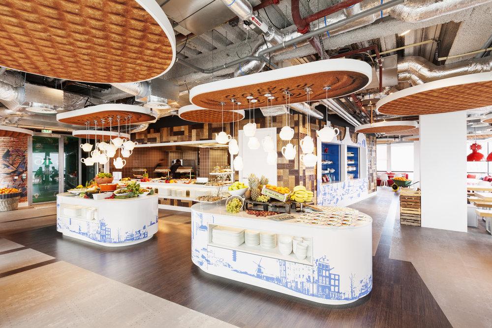Google Amsterdam Cafe