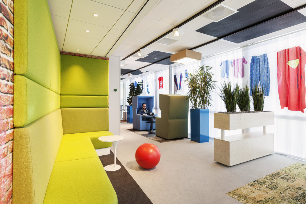Google Amsterdam Collaborative Environment