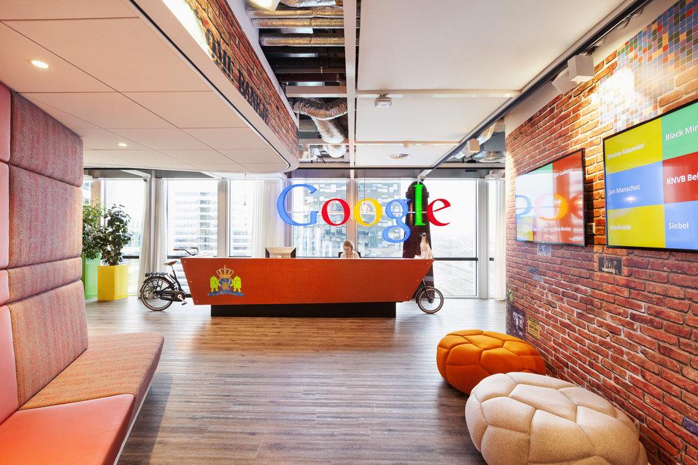 Google Amsterdam Reception