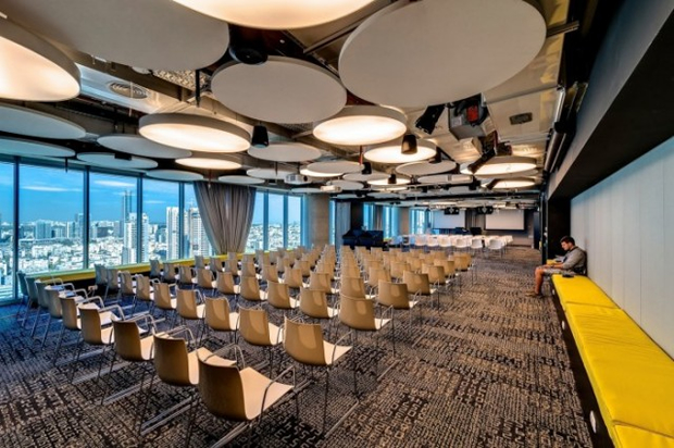 Google Tel Aviv Office Auditorium