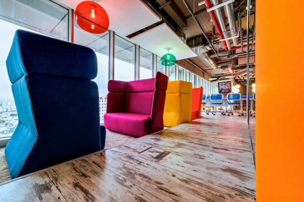 Google Tel Aviv Office Bright