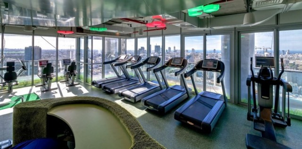 Google Tel Aviv Office Gym