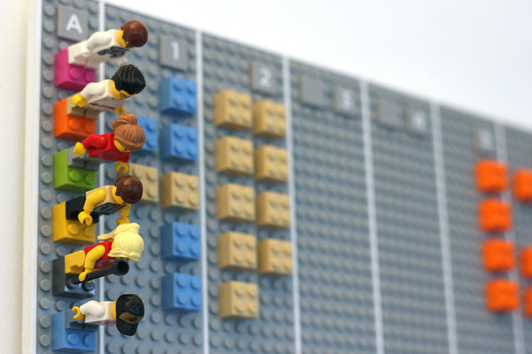 Lego Calendar 4