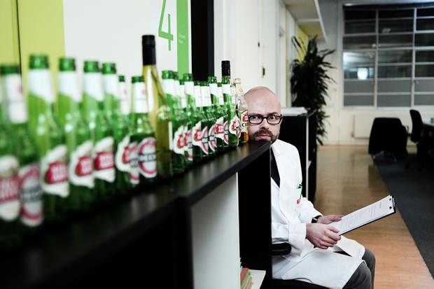 Newton Judge Alcohol at Work Experiment