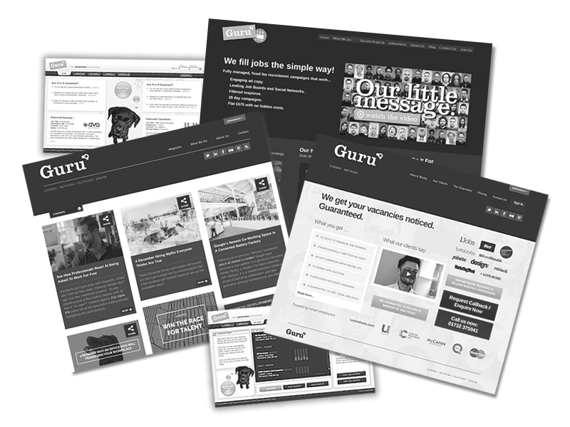 Guru Careers Legacy Websites