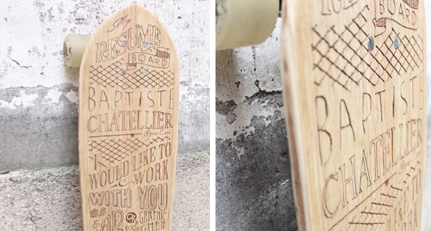 The Finished Skateboard