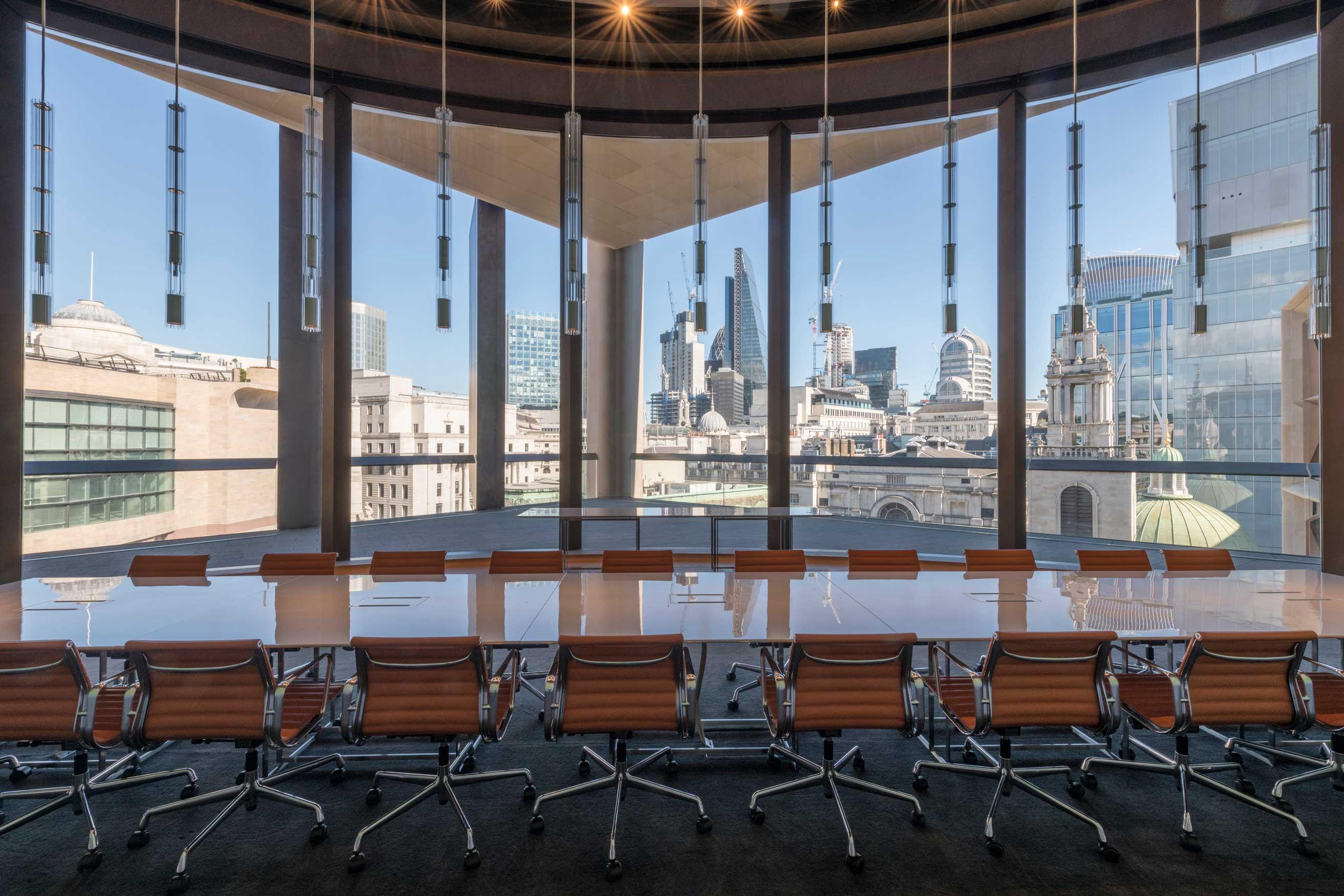 Bloomberg European HQ Workplace - Views