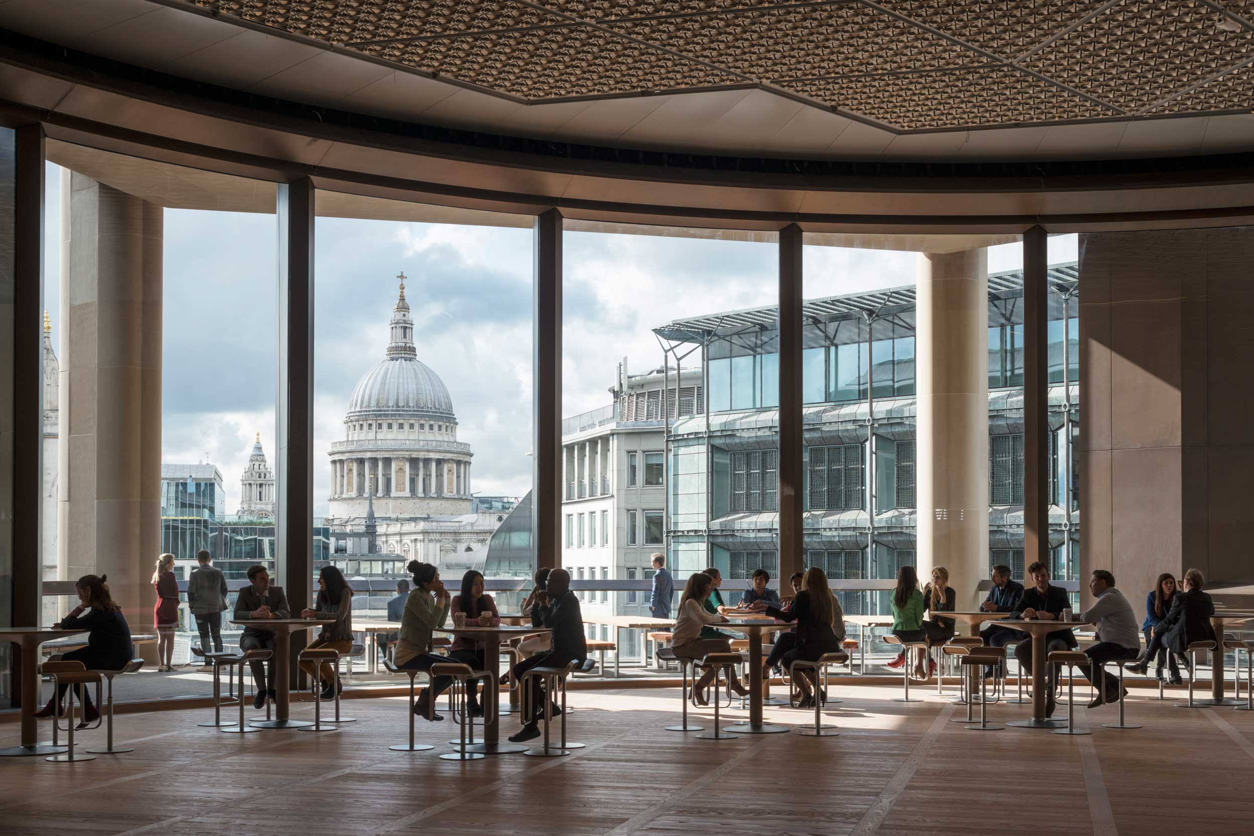 Bloomberg European HQ Workplace - St Pauls