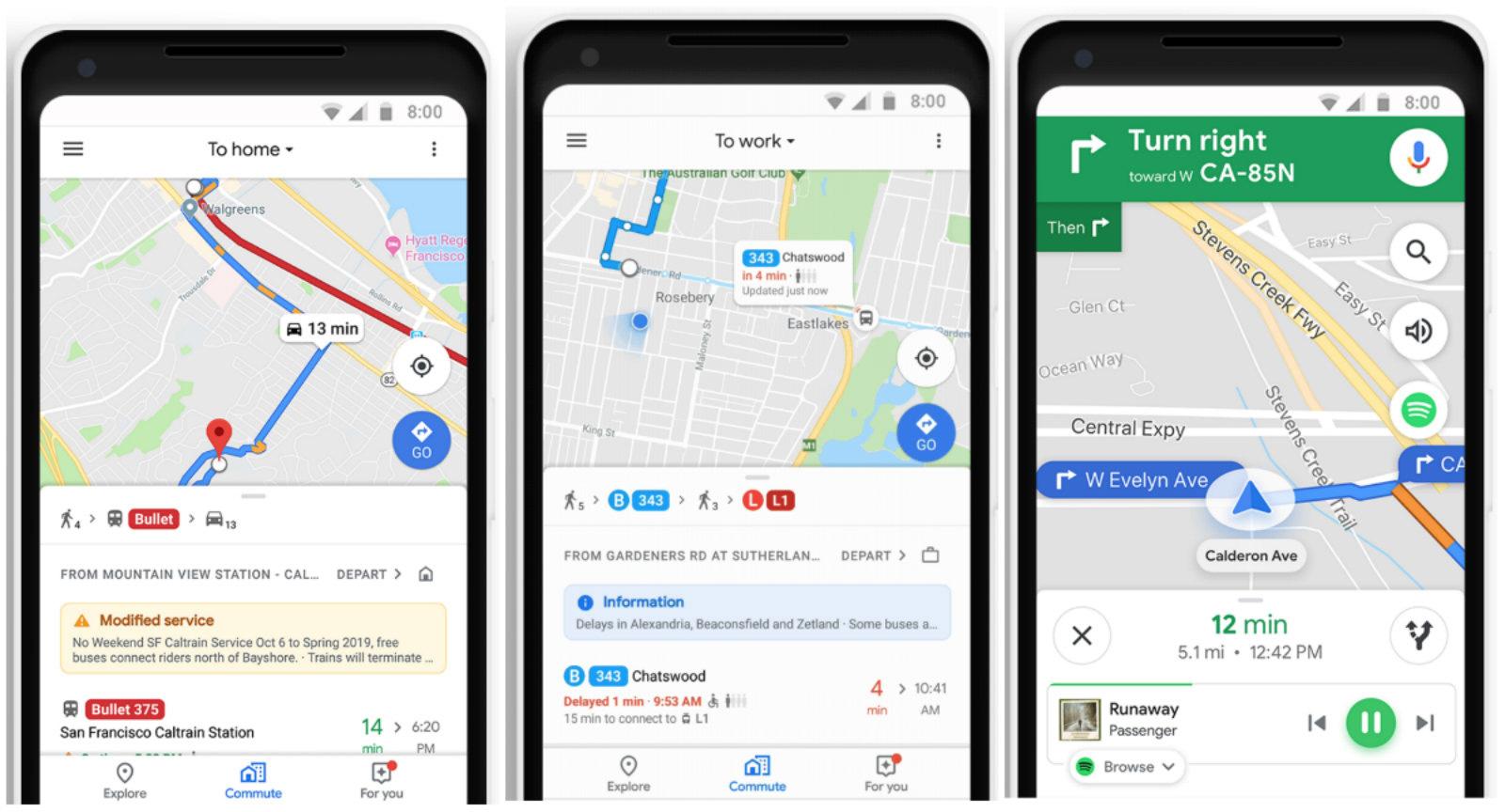Google Commute