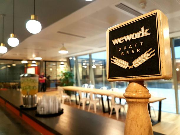 WeWork Free Beer Workplace Perks