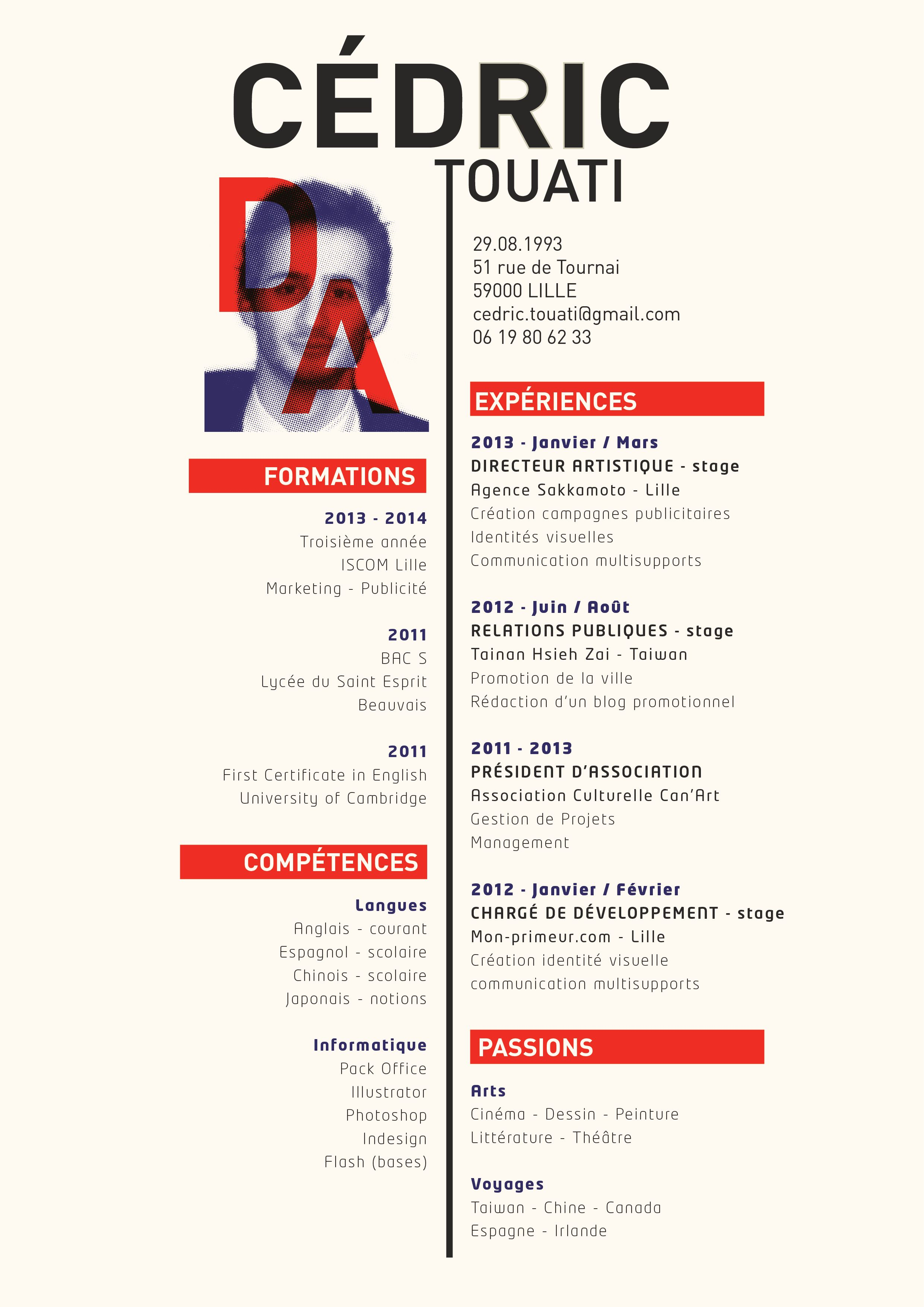 Simple CV Design Example