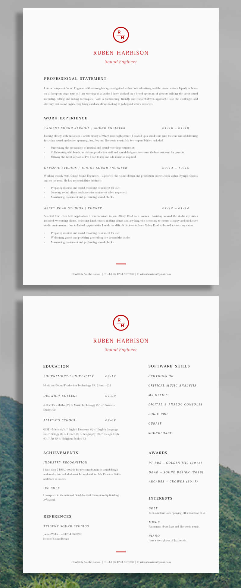 15 Superb Cv Examples To Get You Noticed Guru