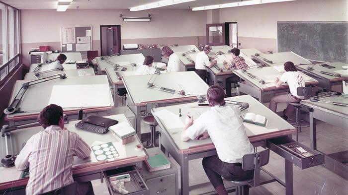 Vintage Drafting Jobs